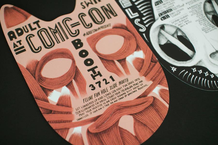 Comic-Con Adult Swim & Brochure