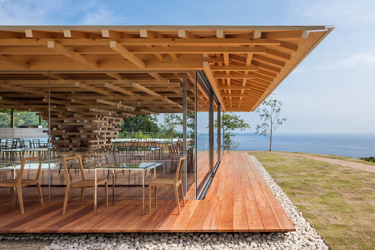 Earthquake-Resistant Coffee House in Shizuoka, Japan