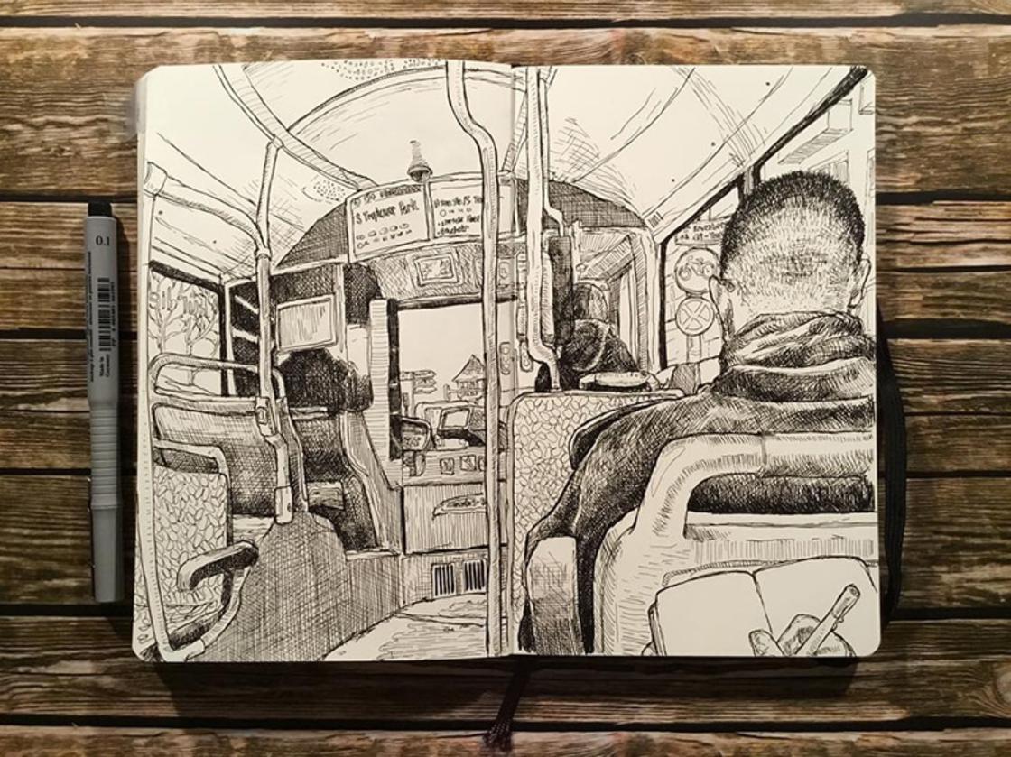 Berlin Sketchbooks – Artist captures the streets of Berlin in beautiful sketches