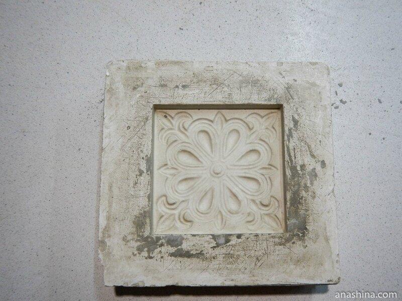 Гипсовая форма, Клинская керамика