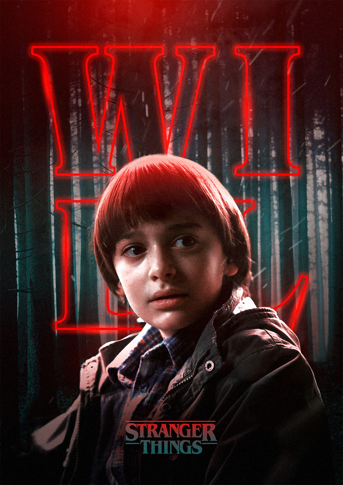 Spooky Stranger Things Characters Posters (9 pics)