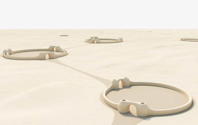 Futuristic Desert City (12 pics)
