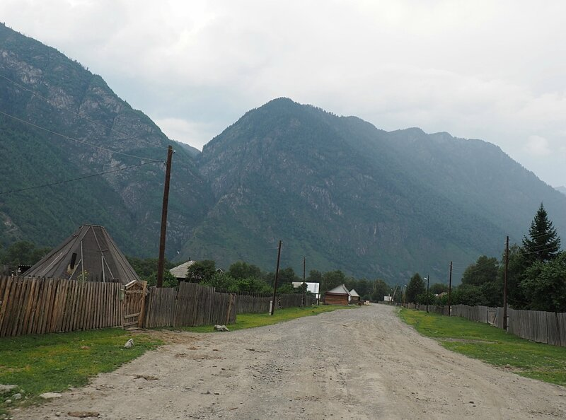 Алтай, село Балыкча (Altai, the village of Balykchy)