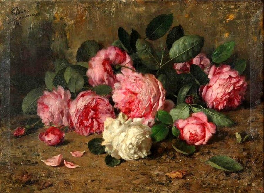Still life with roses , 1894
