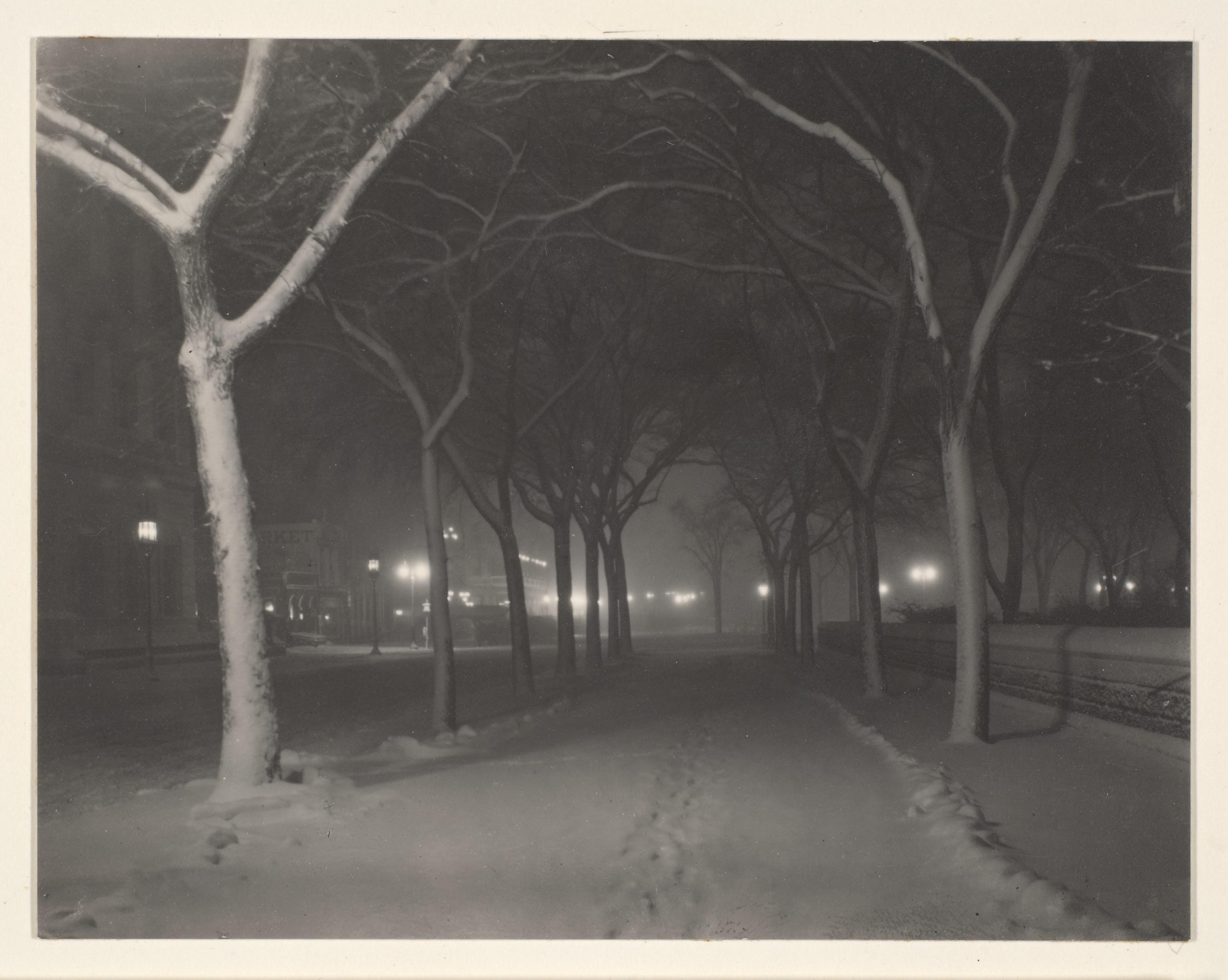 1889. Студеная ночь, Нью-Йорк