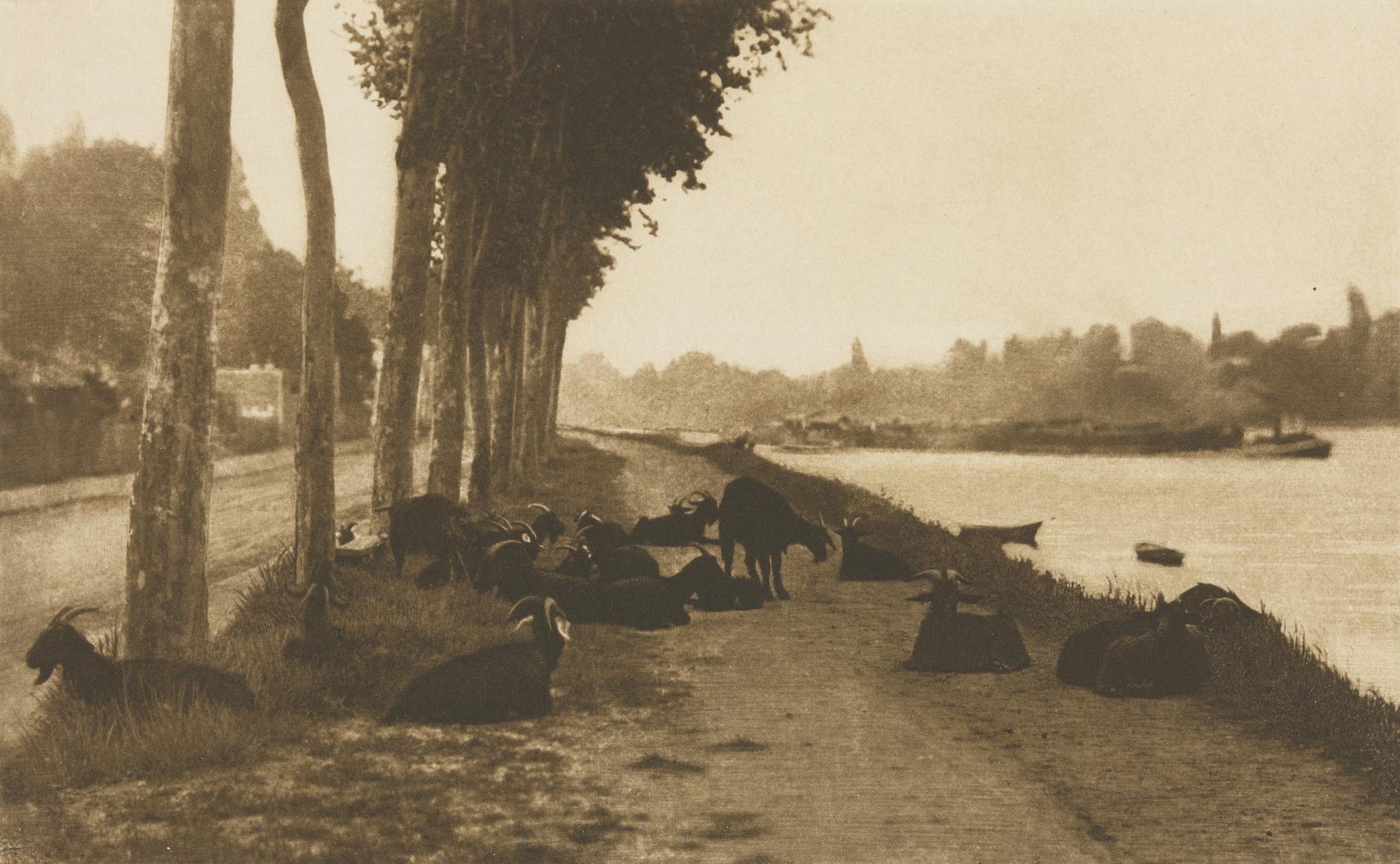 1894. На Сене, недалеко от Парижа