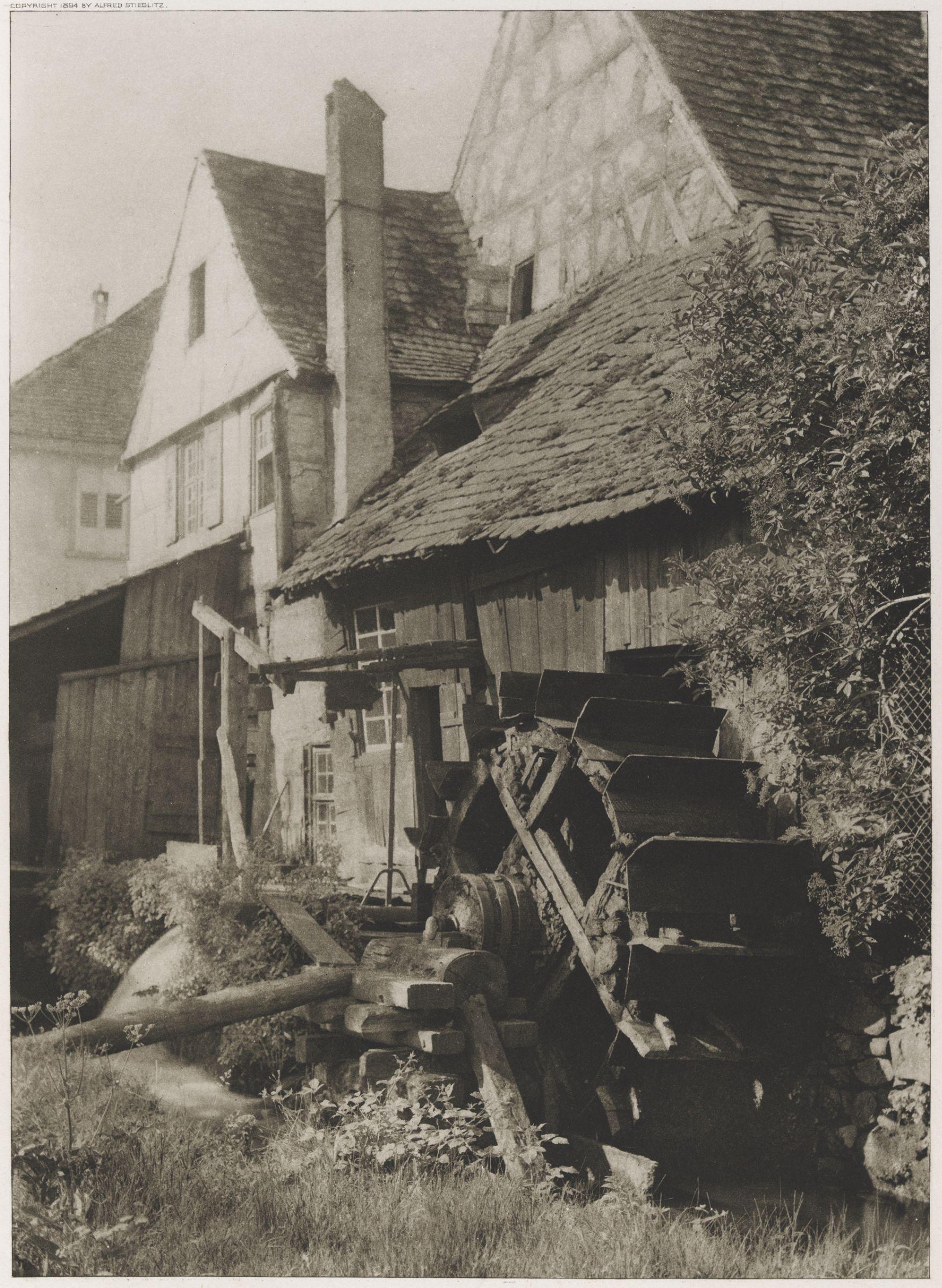 1897. Старая мельница