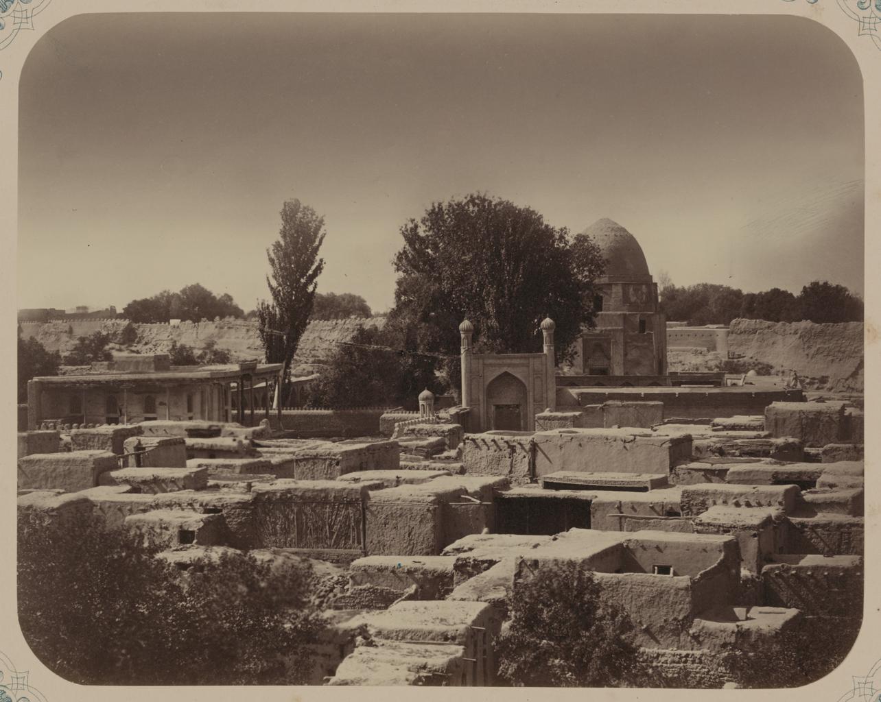 Мавзолей шейха Бурханеддина Клыч. Рухабад. Общий вид