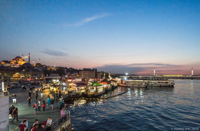 Набережная Эминёню в Стамбуле