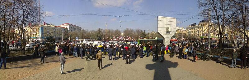 Луганск евромайдан.