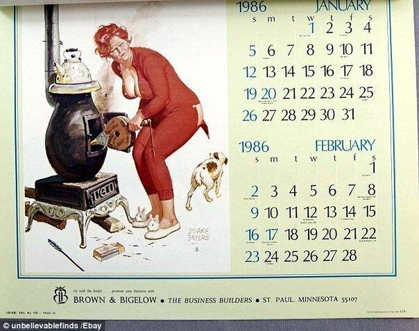 В интернете вырос спрос на календари 1986 года, совпадающие с календарем 2014 года (8 фото)