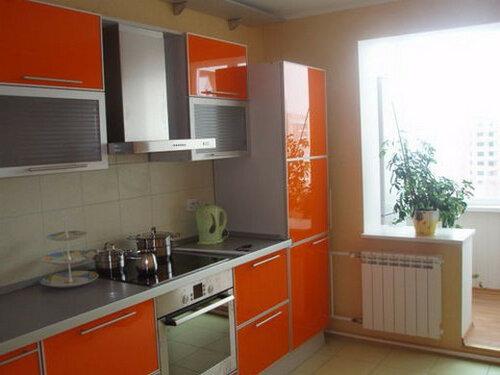 Как обустроить маленькую кухню с бытовой техникой от Siemens