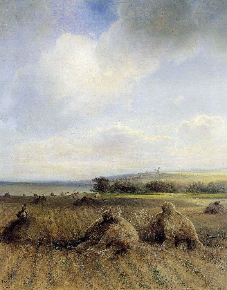 К концу лета на Волге. 1873.jpg