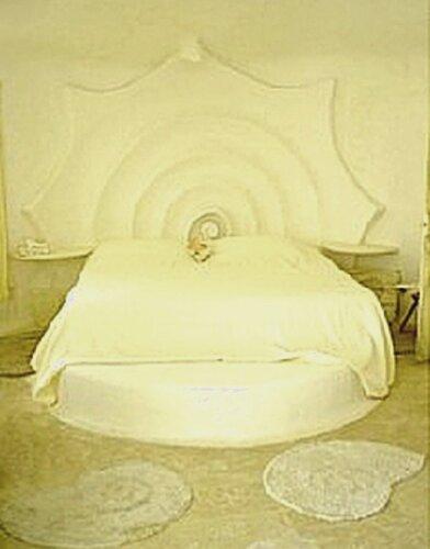 Необычный дом в форме ракушки