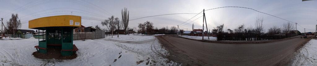 Автобусная остановка в с. Квасниковка