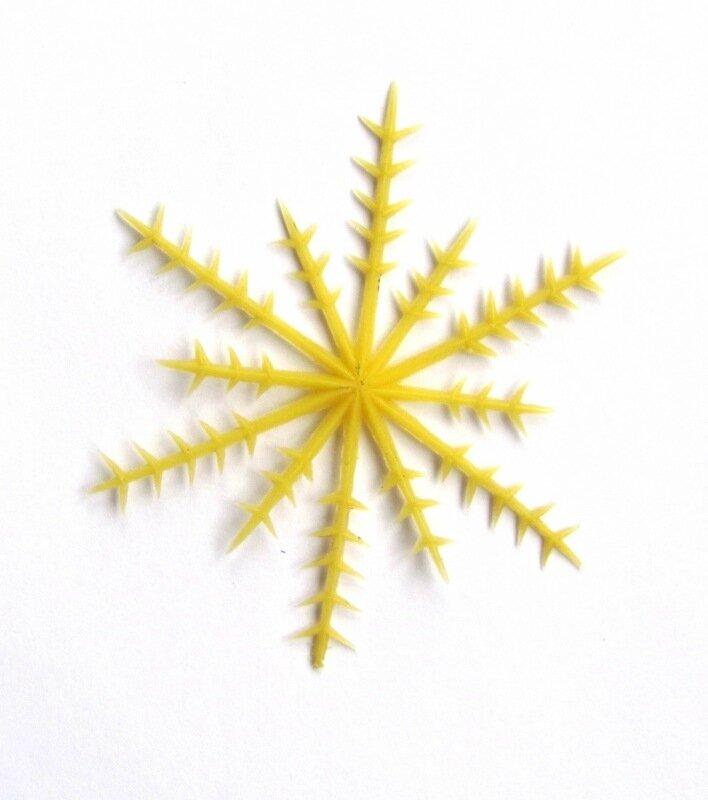 елочные игрушки СССР - снежинка