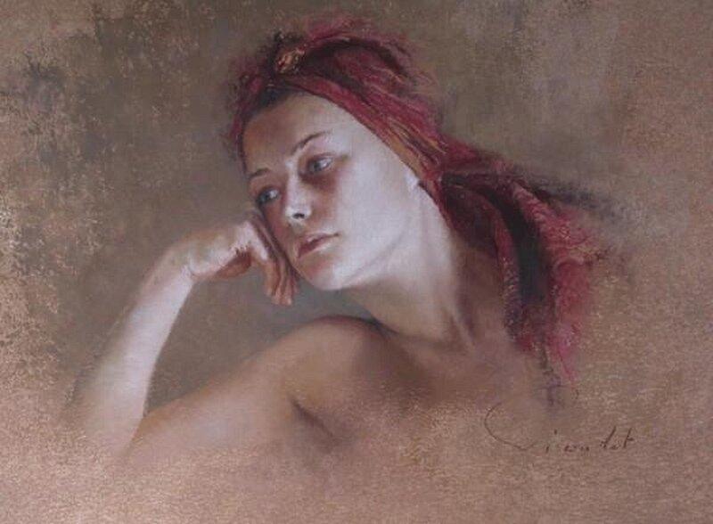 Портреты французской художницы Nathalia Picoulet