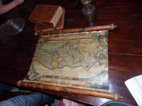 Карта мира XVI века