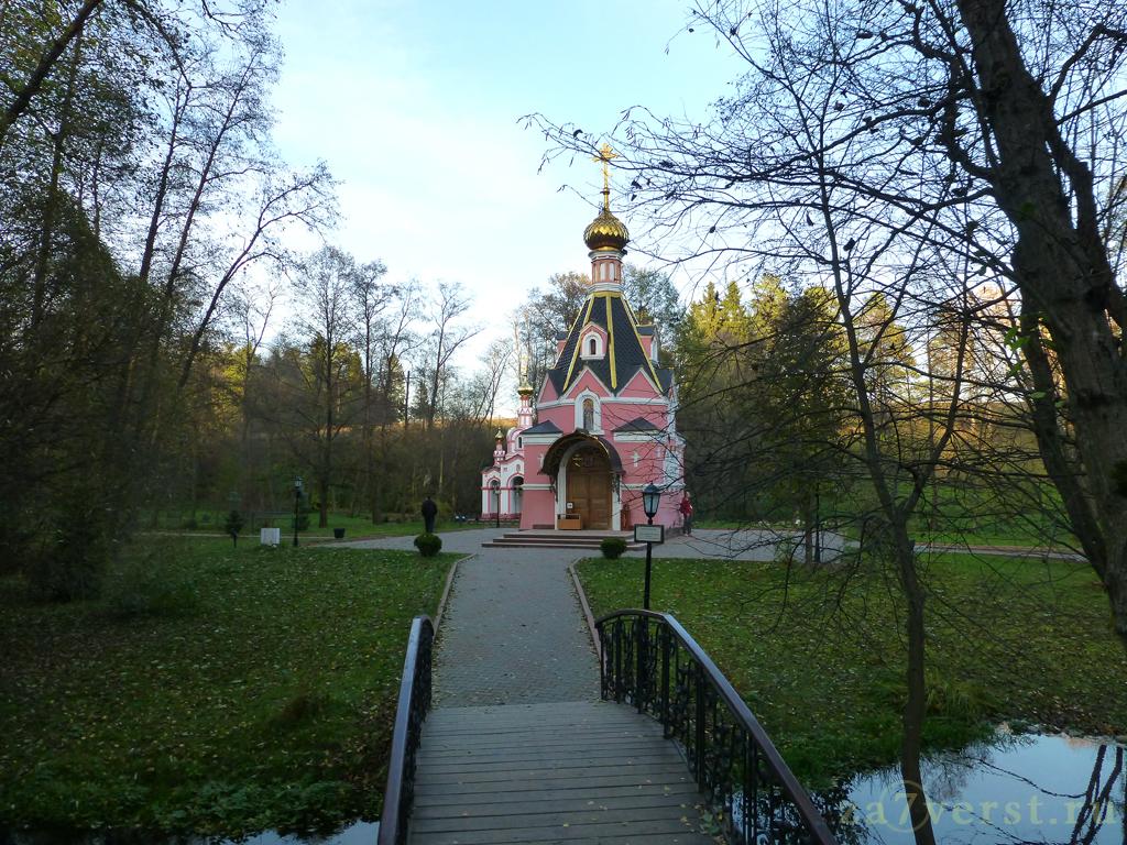 Святой источник Пресвятого Давида в селе Талеж Московской области