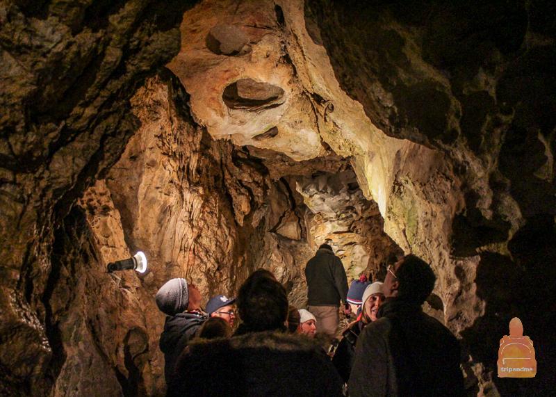 Общая протяжённость пещеры - около 30 километров
