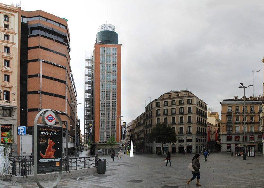 Мадрид. Площадь Кальяо (Plaza del Callao)