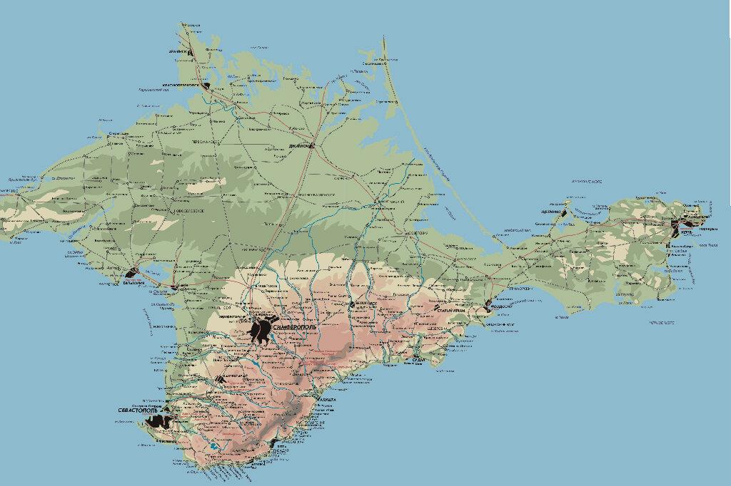 Украина, Крым - чем дальше, тем интереснее...