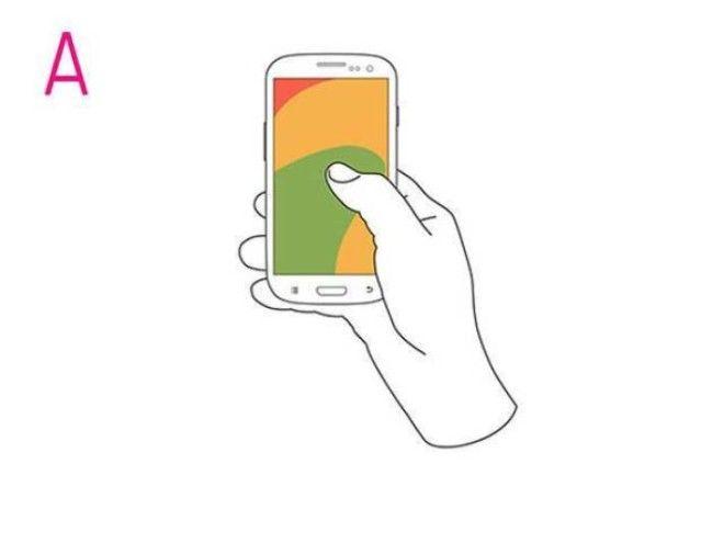 Если вы держите свой мобильник в точности, как на фото, то вы — многозадачная личность. У вас