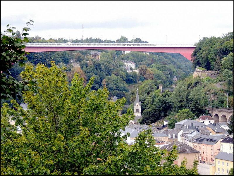Luxembourg 8630 Pont Grande-Duchesse Charlotte
