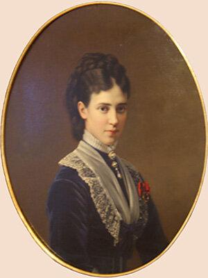 Неизвестный художник. Портрет императрицы Марии Фёдоровны