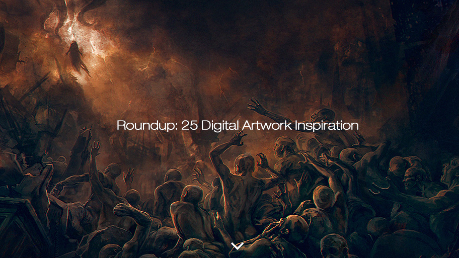Roundup: 25 Digital Artwork Inspiration (25 pics)