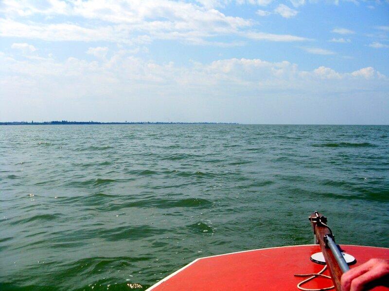 На яхте,  туризм