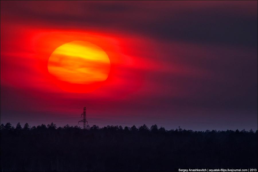 ТОП-40 закатов 2013 года
