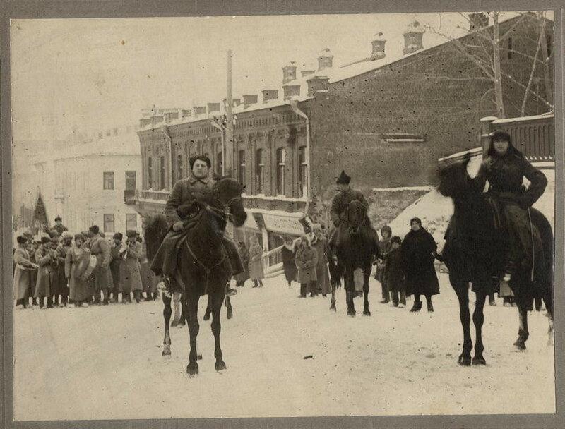 Вроде как красноармейцы в Томске в декабре 1919 г.
