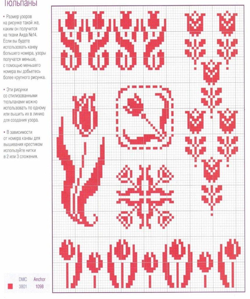 Как переводить рисунок для вышивки 563