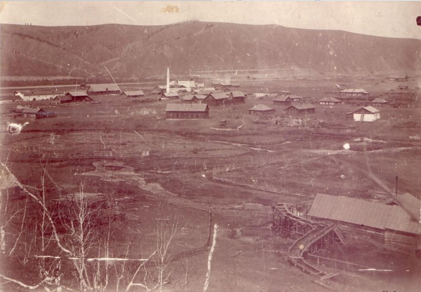 Окрестности Нерчинска. Борщевочный винокуренный завод