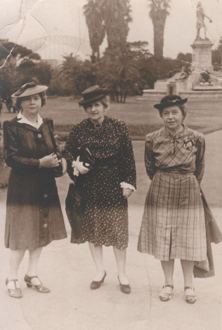 1938. Эдит и Лили Холл в Сиднее