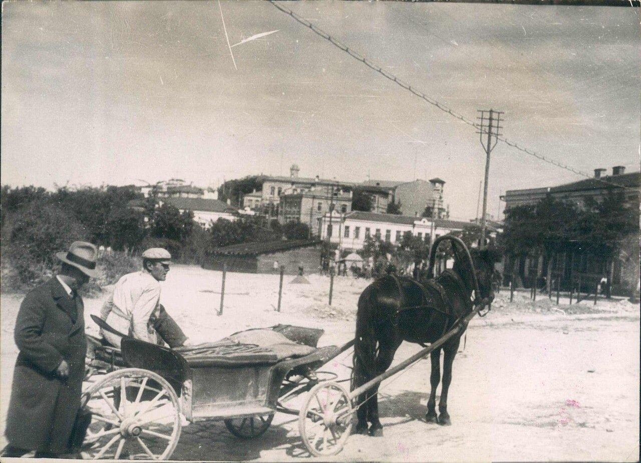 1929. Севастополь. Местное такси