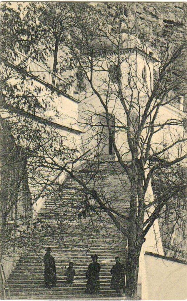 Успенский скит. Главная лестница
