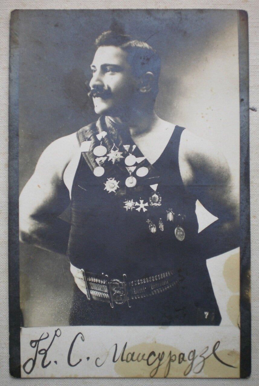 Борец из Тифлиса Коста Майсурадзе