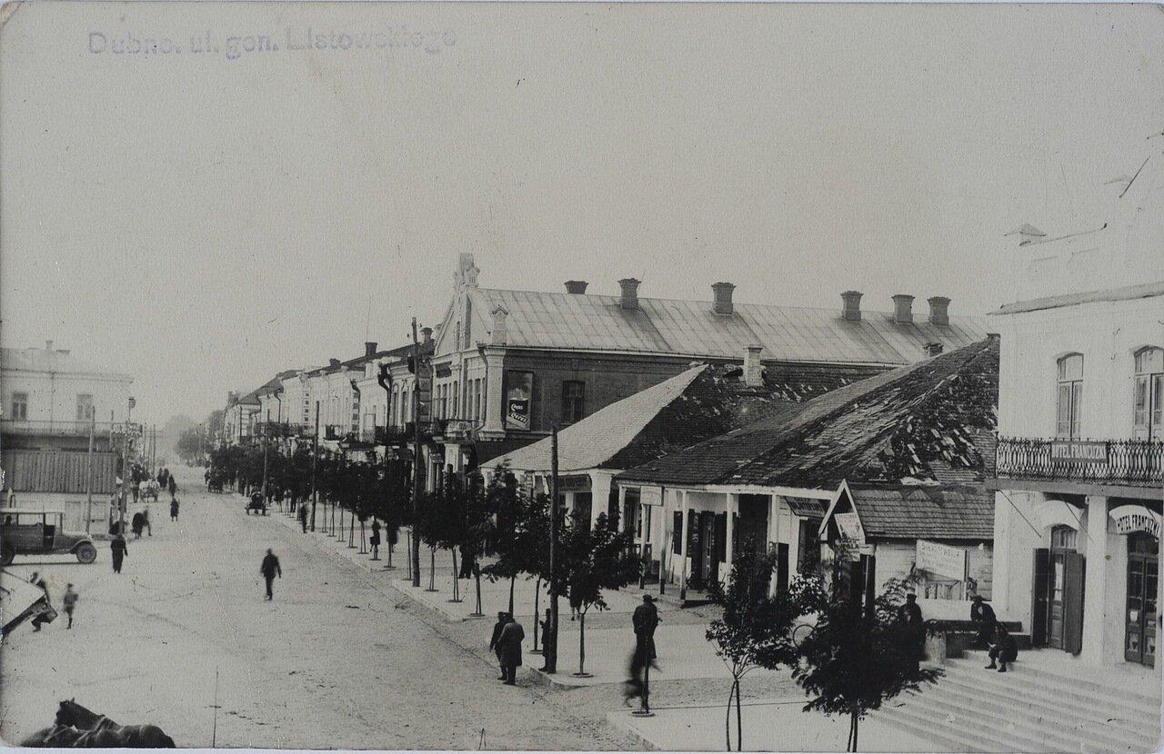 Улица генерала Листовского