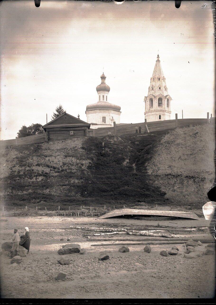 1926. Село Кондинское. Характер берега