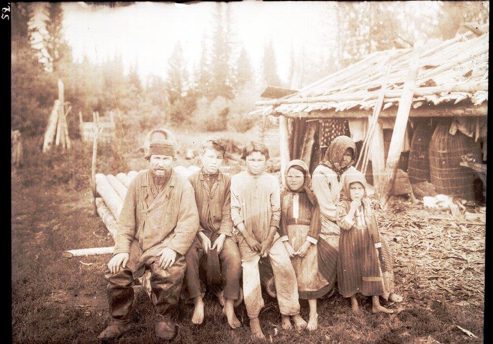 Семья остяков Рымовых