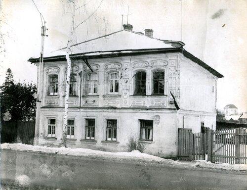<p>Дом Серебрянникова в г. Нерехте</p>