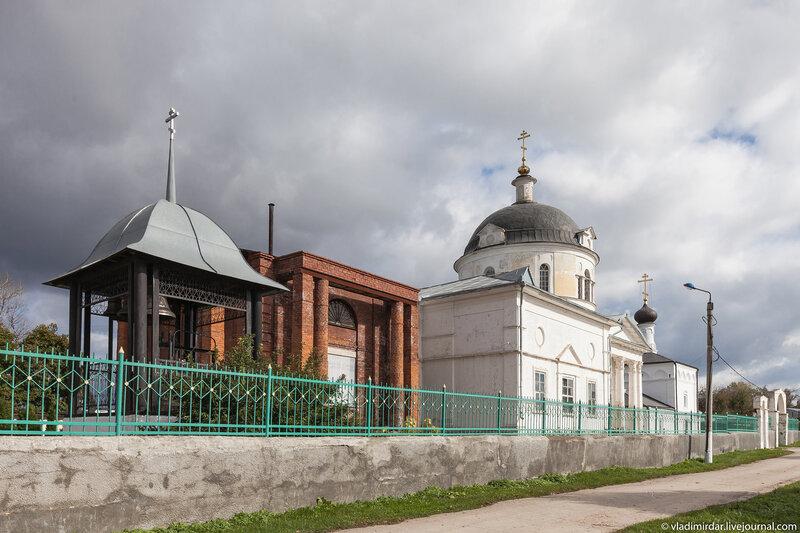 Будущая колокольня на Соборной горе