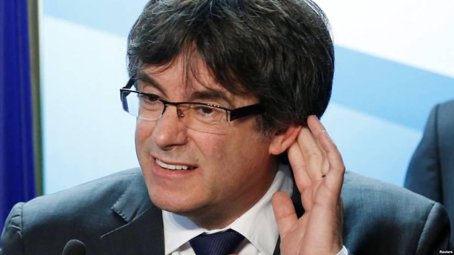 В Германии задержан каталонский сепаратист Карлес Пучдемон