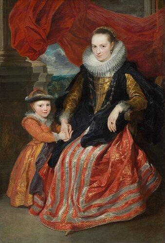 Подборка картин  «Мать с ребенком в живописи»