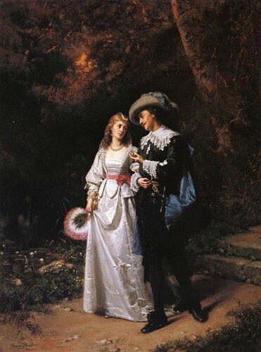 Henry Mosler - Courtship