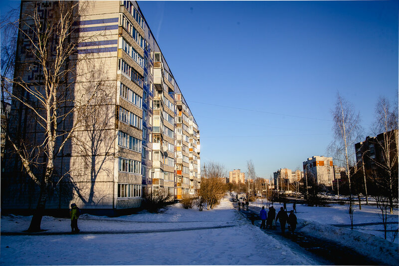 Весна заходит во Владимир