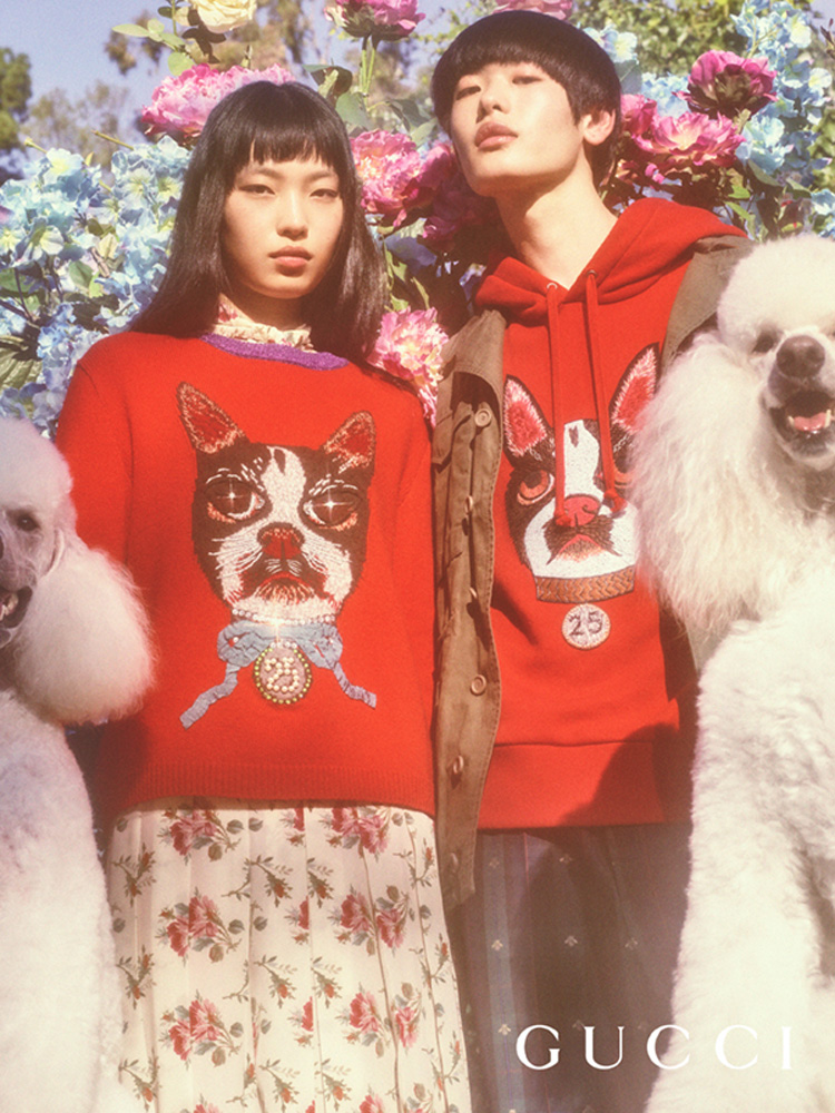 Gucci Celebrates The Year Of The Dog