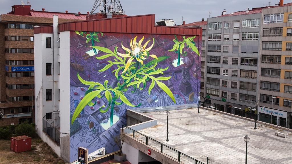 plant murals mural urban plants